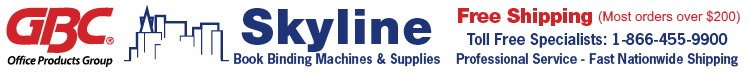 Online Skyline Book Binding Machines and Supplies Logo